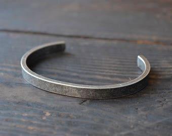 Men's Vintage Bracelet, Cuff Bangle, Stainless Steel Bracelet,Men's Gift,Men's Bracelet