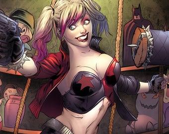 Harley Quinn Fan Art Piece