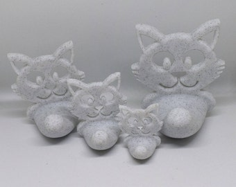 Cat Hook Family (Marble Effect)