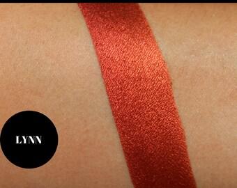 Red Orange Eyeshadow, Bright Eyeshadow, Eyeshadow Palette, Vegan Eyeshadow, Cruelty Free Eyeshadow, Gift for Mom, Gift for girlfirend