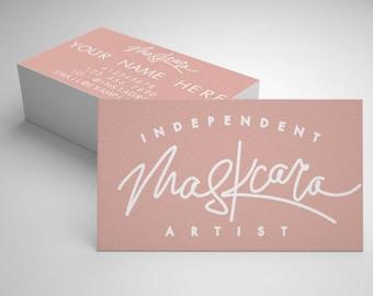 MaskCara Business Card // 20% off