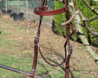 Handmade Leather Bridle