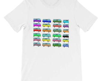 Happy Bus Colors T-Shirt