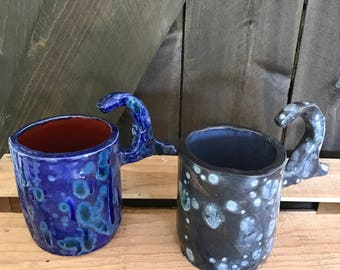 Blue Cup & Starry Cup