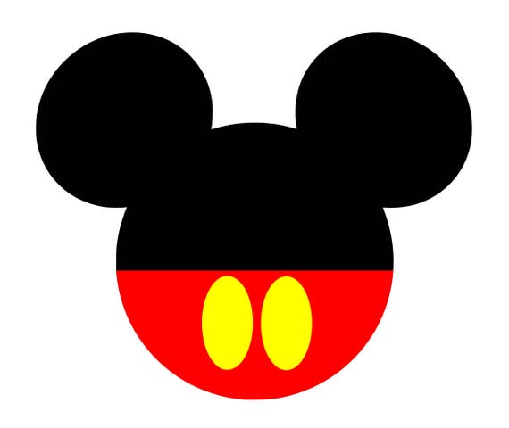 Mickey Mouse Svg Disney Mickey Mouse Svg Mickey Mouse Ears
