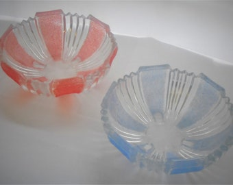 Pair of Vintage Art Deco Style bowls