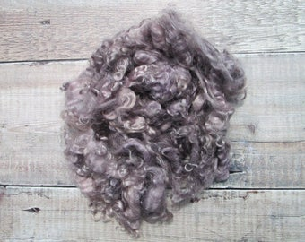 Natural Dyed Mohair Locks - 50 g/1.75 oz - Wool Locks - Plant Dyed - Doll Hair - Spinning Fibre - Felt Making - Waldorf Doll - Felting