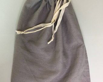 Shoe bag made of 100% linen