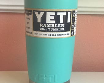 New Tiffany Blue Yeti- FREE MONOGRAM