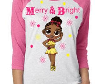 Merry & Bright Christmas shirt