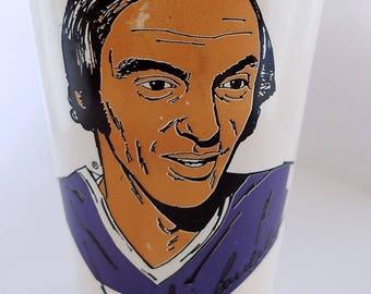 Rare 7-eleven Slurpee CHRIS BORDELEAU Winnipeg Jets WHA Plastic Cup 7-11