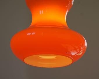 1970's OPALINE pendant lamp / SUSPENSION
