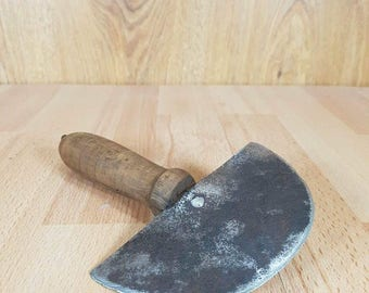 Old Handmade Tool for Chopping Cabbage - Vintage Toll for Chopping Cabbage - Collectible Vintage Tool - Vintage chopping tool.
