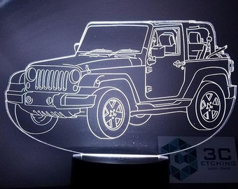 Jeep Wangler (JK) LED Display