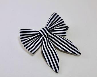 Bowtie/Accessorie/Handmade/Mens Bowtie/Womens Bowtie/Black&White bowtie/Original wedding/Unique bowtie