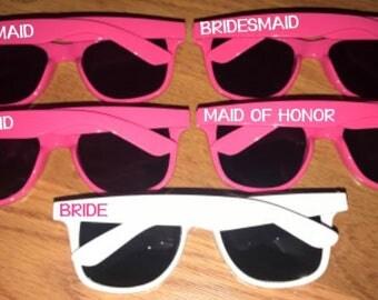 Personalized Sunglasses, Custom Sunglasses, Monogram Sunglasses, Bachelorette Sunglasses, Wedding Party Sunglasses