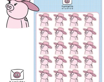 Lady Gaga Joanne Planner Stickers | Cowboy Pig | Little Monsters Fan Stickers | Mother Monster | Momma Monster | Mama Monsters | Monsters