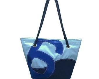 6 recycled sail bag