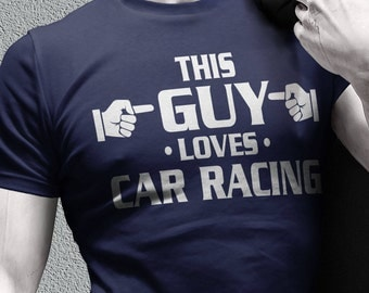 Race Car T Shirt Etsy