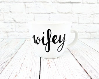 Wifey Cappucino Mug