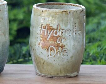 Hydrate or Die Tumbler
