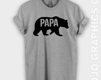 Papa Bear Shirt - Papa Bear Shirt, Fathers Day Gift, Papa Bear T-shirt, New Dad Shirt, Dad Shirt, Fathers Day Shirt, Papa Shirt, New Papa