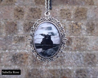 Whitby Abbey Cameo Necklace