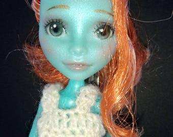 Lorna McNessie Monster High Repaint OOAK