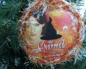 Charmed Christmas Ornament Upcycled TV Show DVD #2 - Prue