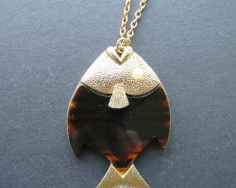 Vintage Fish Necklace, Sarah Coventry
