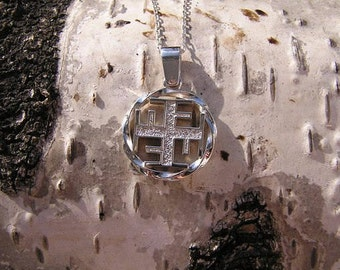Ratiborets Pendant. Slavic jewelry. Slavic talisman. Pagan jewerly. Slavic amulet. Ancient jewerly.
