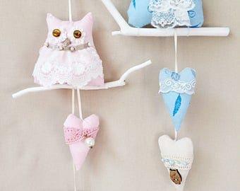 Свадебные совы в стиле бохо Wedding owls in the style of a boho gift decor