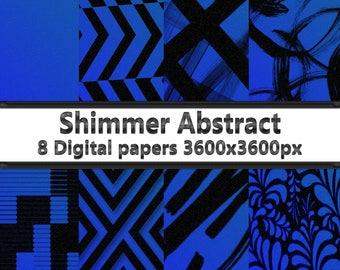 Shimmer Abstract 1 Digital Paper