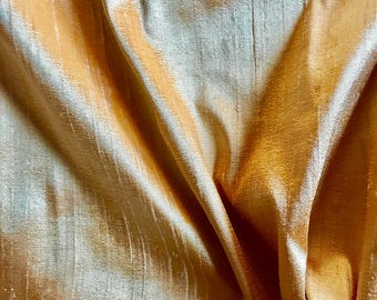 Shantung Gold Silk Fabric- Eastern Accents