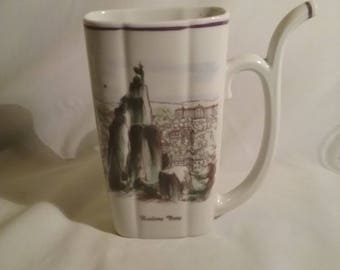 Vintage Karlovy Vary Sipping Cup -JLE Made in Czechoslovakia