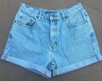 High Sierra Cuffed Denim Shorts