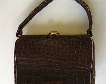 Alligator Handbag by Lesco Early 60's