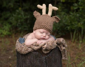 Deer Hat- Photo Prop