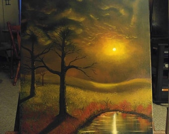Oil painting fantasy