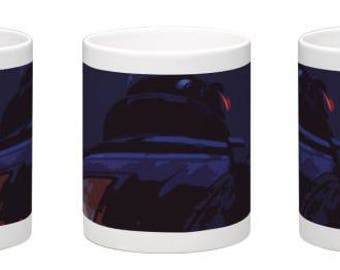 Soldier 76 Graphic | Overwatch Mug