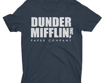 Dunder Mifflin Shirt. Paper Company Shirt. The Office. The Office Shirt