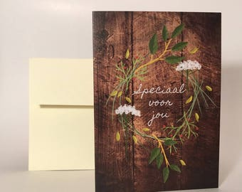 """Greeting Card """"Special for You"""""""