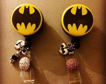 Batman badge reel