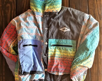 90's Instinct Surfwear Ski Coat