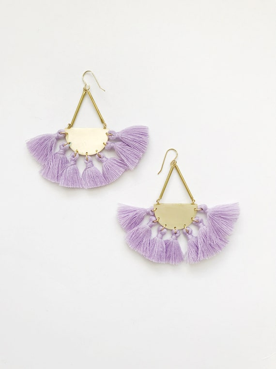 The Rachel Earrings, more colors available