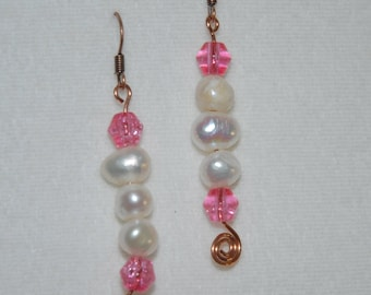 Sage Allysa's Elegant Hawaiian Freshwater Pearl Earrings