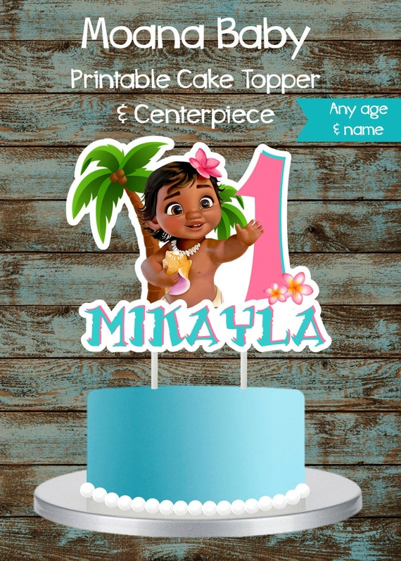 Moana Toys As Cake Toppers