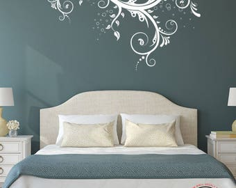 FUN SWIRL Wall Decal- Vinyl Wall Decal- Wall Stickers-Wall Decals- Living Room Decor- Family Room Wall Decoration-Bedroom Wall Decor 30x20
