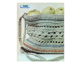Purse Crochet Pattern - Made in String