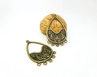2 chandelier ethnic ornate 26 * 46 mm bronze (SFBB01)